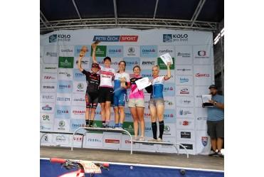 Podium Ziółkowskiej w maratonie UCI w Czechach